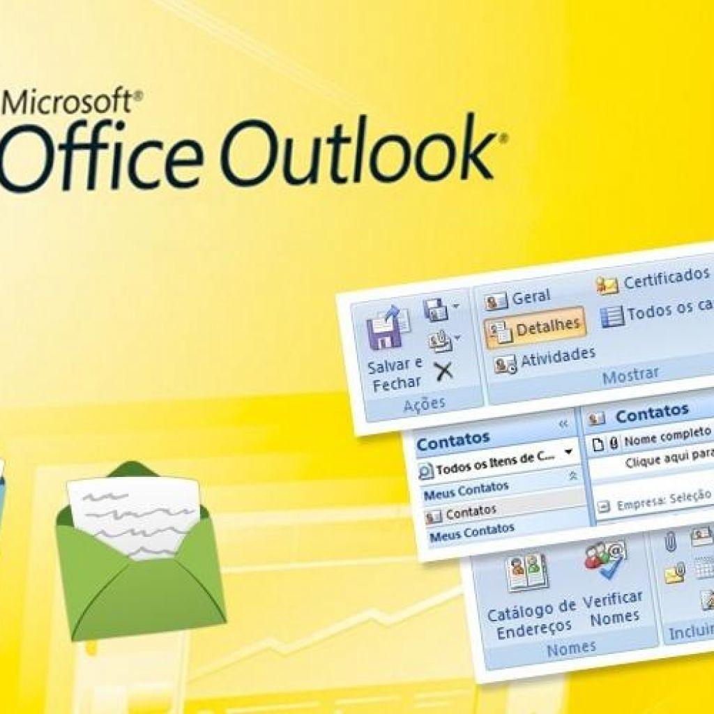 Configurar o Microsoft Outlook 2007 para acesso IMAP