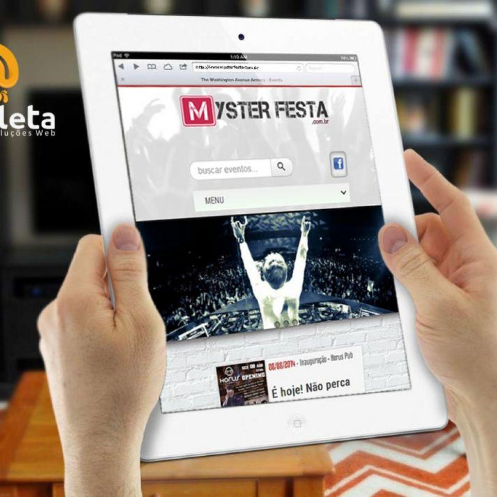 Site Mysterfesta.com.br