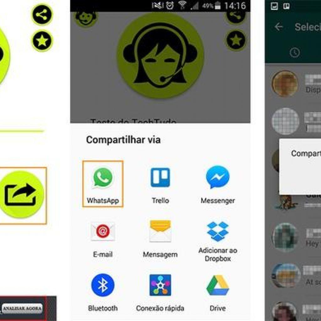 Compartilhe mensagens com a voz do Google tradutor via WhatsApp