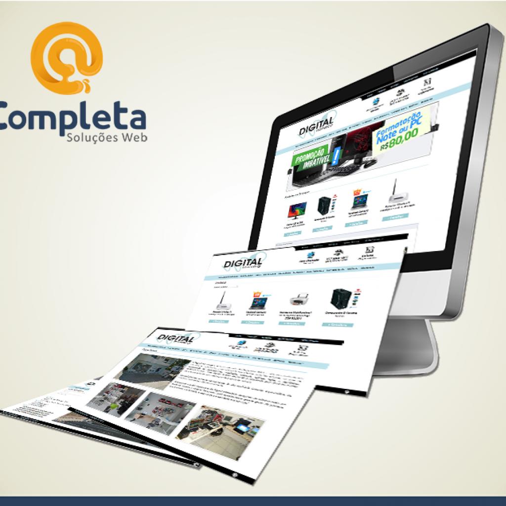 Digital Informática - A tecnologia ideal para você e sua Empresa