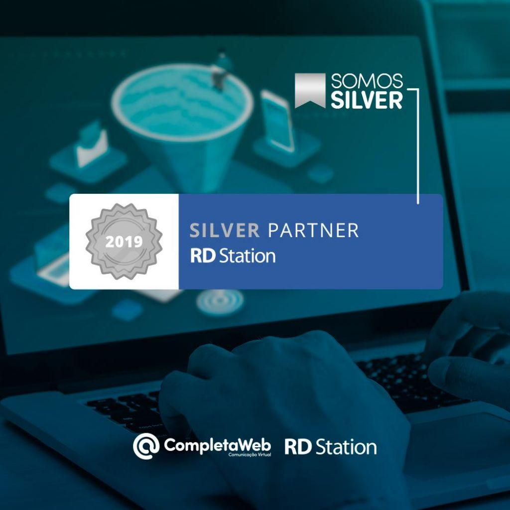A CompletaWeb agora é uma parceira Nível Silver na RD Station!