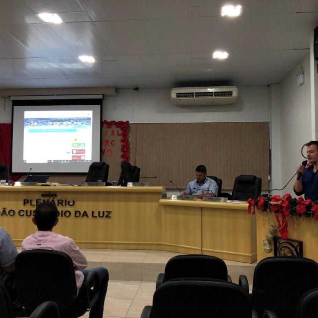 CompletaWeb Apresenta Novo Site da Câmara em Pouso Redondo