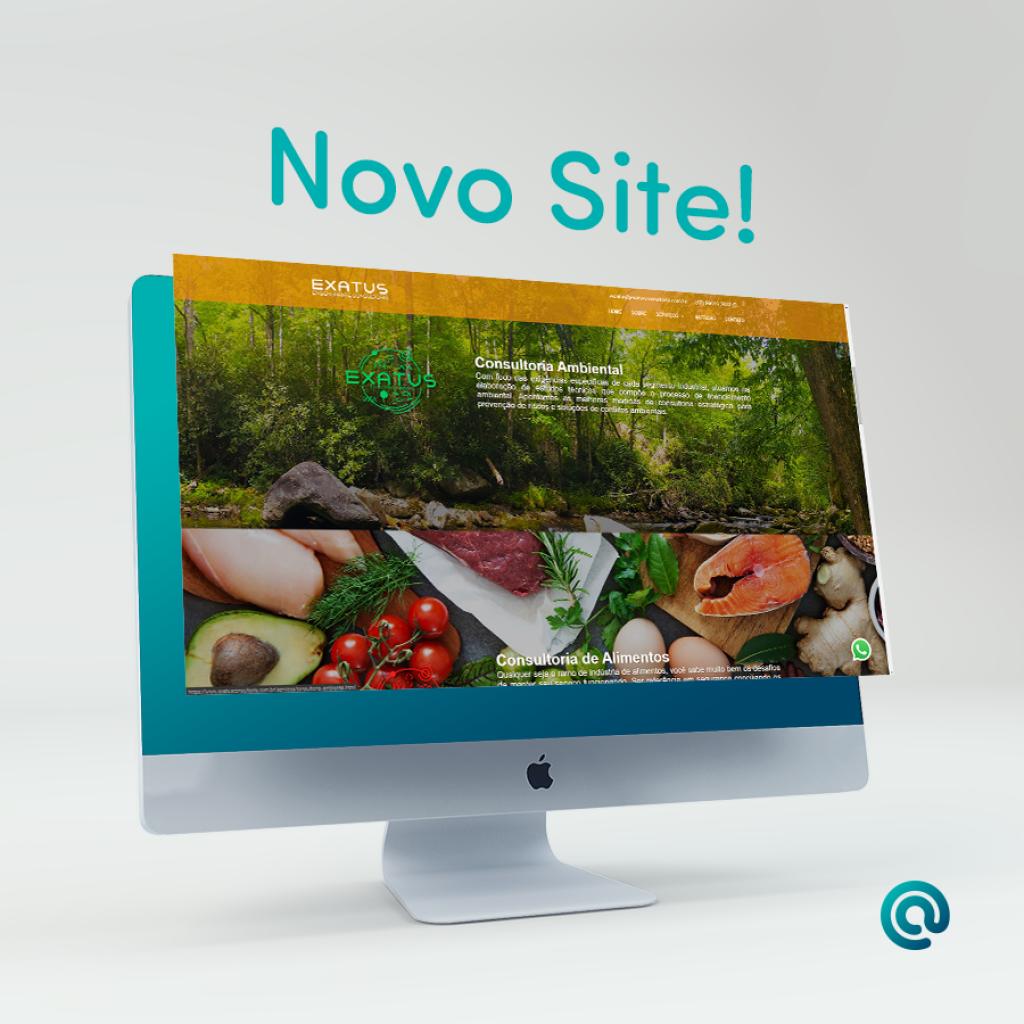 Conheça o novo site da Exatus Consultoria
